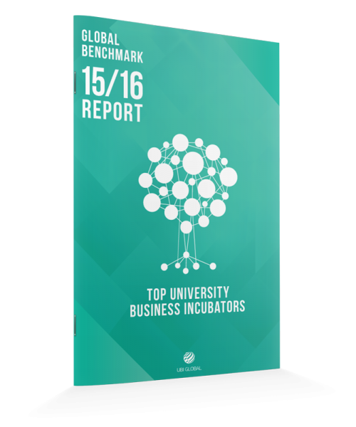 Top University Business Incubators - Global Benchmark 15/16