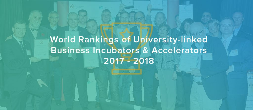 The World's Top Performing Incubation Programs Revealed Feb 22, 2018